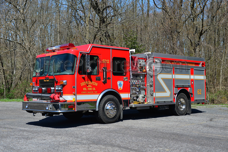 LOWER SAUCON TWP. (SOUTHEASTERN FIRE CO.) ENGINE 6212 - 1998 SPARTAN/CENTRAL STATES 1250/1000