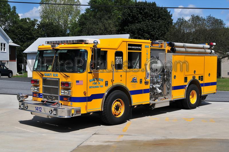 Nancy Run Engine 14-12 - 2003 Pierce Dash 1500/750 (Northampton County)