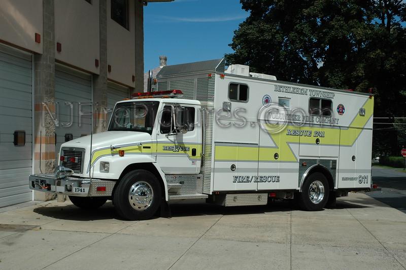 Bethlehem Twp - Rescue 1741 - 1999 Freightliner/Ferrara