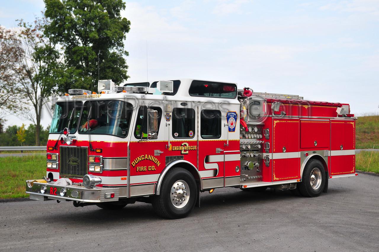 DUNCANNON ENGINE-RESCUE 2 - 1994 EMERGENCY ONE 1500/500/50