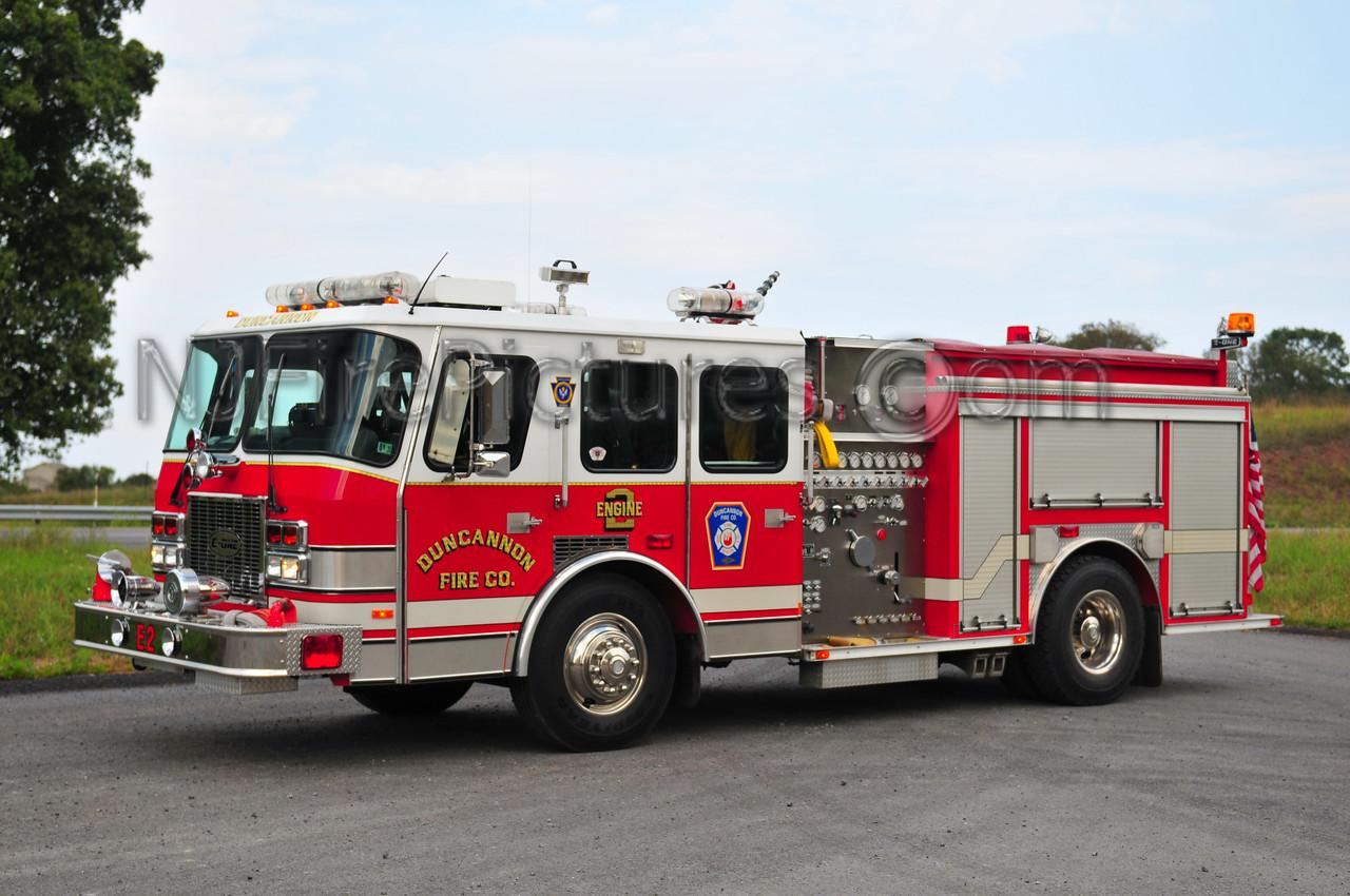 DUNCANNON ENGINE 2 - 1995 EMERGENCY ONE 1500/500 EX-LEBANON, PA
