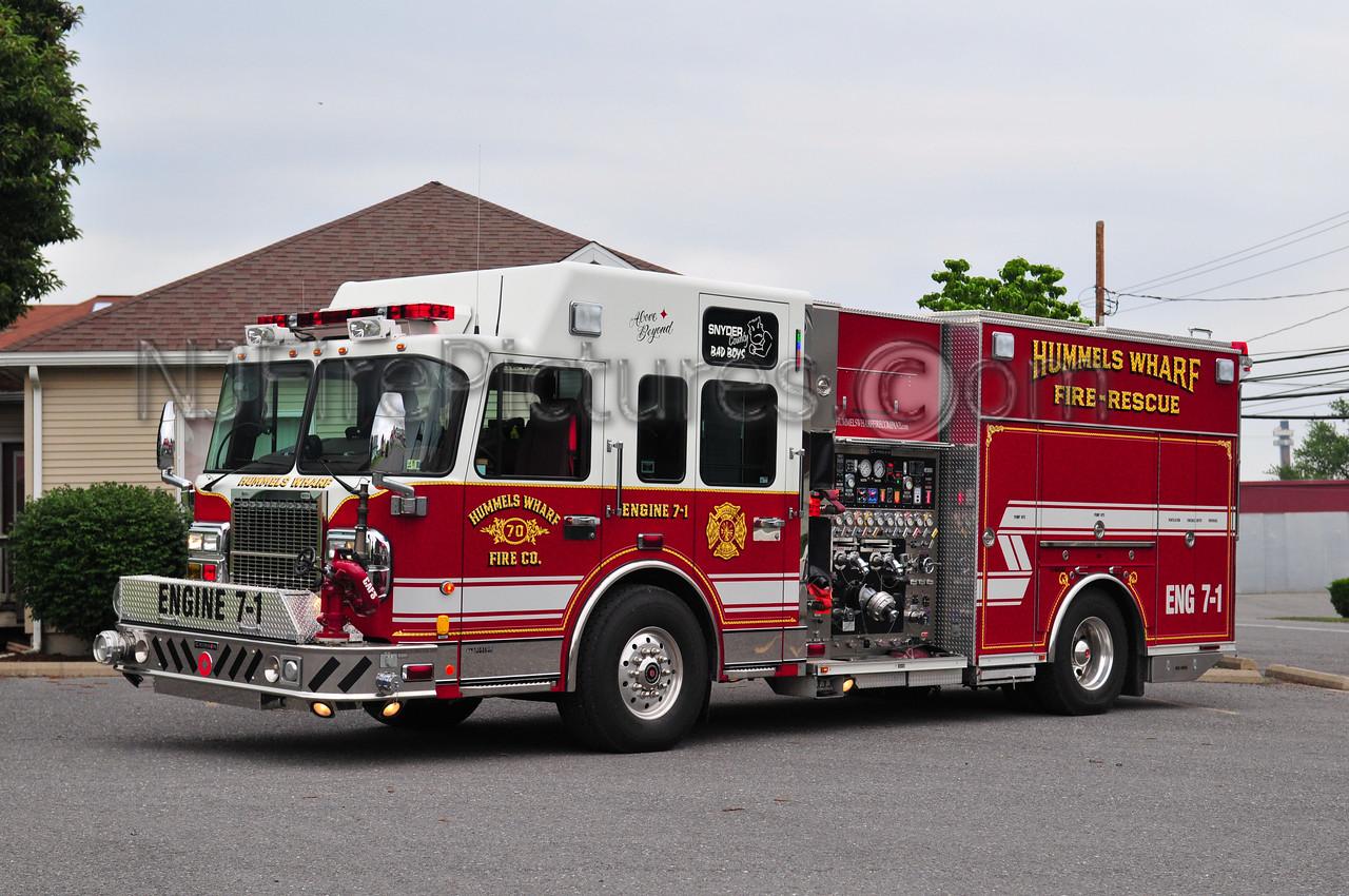 HUMMELS WHARF ENGINE 7-1 - 2007 SPARTAN/CRIMSON 2000/1000/50A/40B