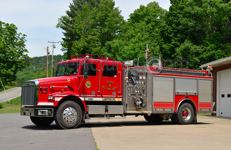 LAWTON, PA RUSH FIRE CO. ENGINE 4