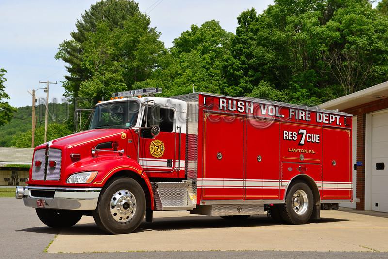 LAWTON, PA RUSH FIRE CO. RESCUE 7