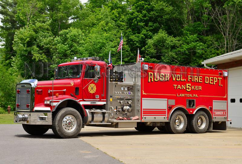 LAWTON, PA RUSH FIRE CO. TANKER 5