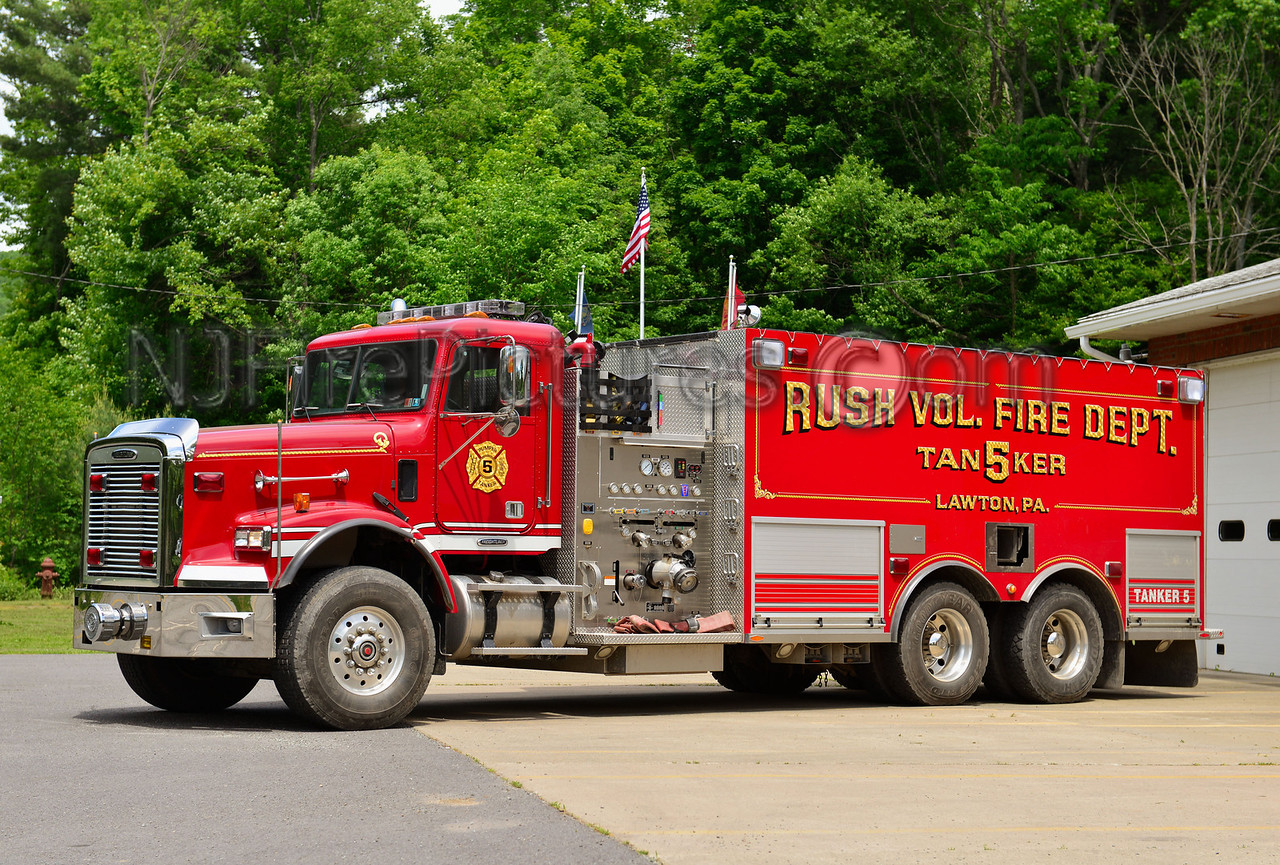 LAWTON, PA RUSH FIRE CO. TANKER 5