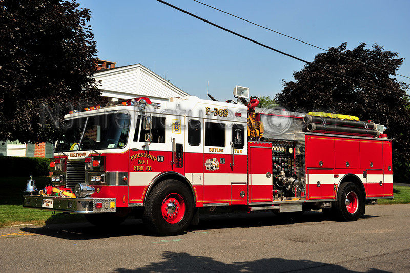BUTLER TWP (ENGLEWOOD) ENGINE 369 - 1991 PIERCE LANCE 2000/1000/50