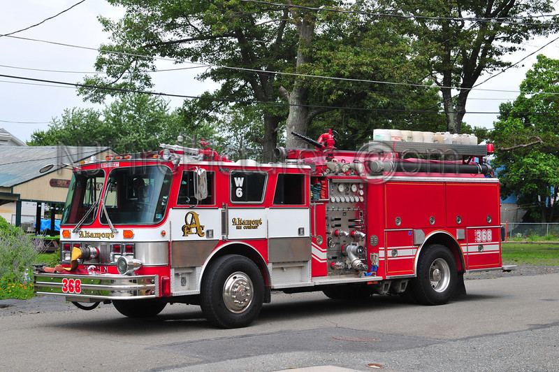 ALTAMONT FIRE CO. ENGINE 368 - 1987 HAHN/1998 EAST PENN 1500/1000 (EX-HARTWOOD VIRGINIA)