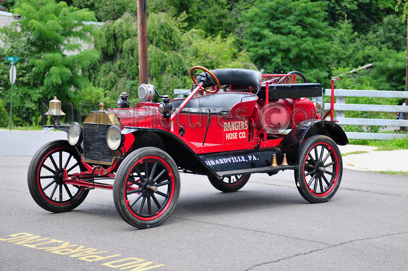 GIRARDVILLE, PA (RANGERS HOSE CO.) 1916 FORD MODEL T CHEMICAL PUMPER