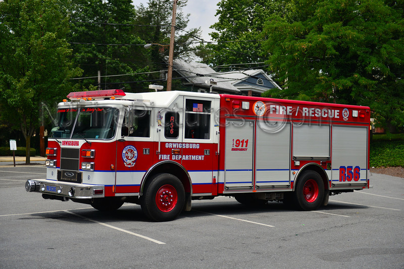 ORWIGSBURG RESCUE 56 - 2001 PIERCE SABER