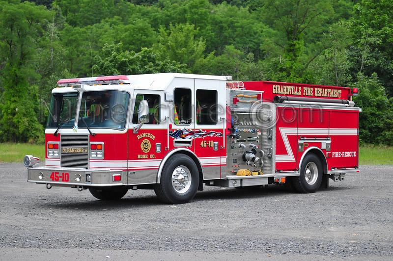 GIRARDVILLE, PA (RANGERS HOSE CO.) ENGINE 45-10 - 2007 KME PREDATOR 1500/750/20