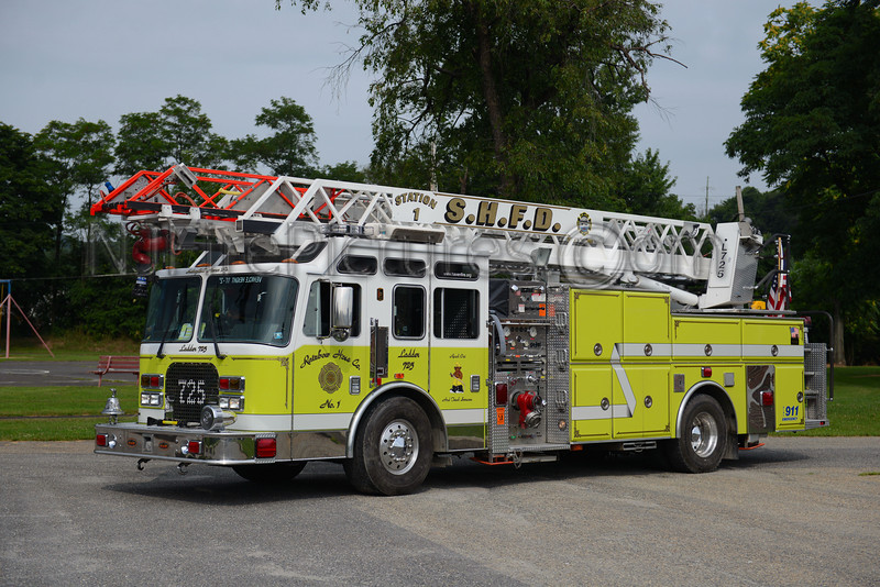 SCHUYLKILL HAVEN LADDER 725 - 1997 KME 1750/450/75'