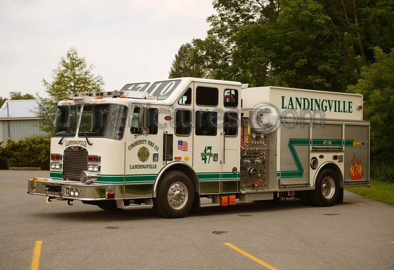 LANDINGVILLE ENGINE 47-10 - 2004 KME 1750/1500/30A