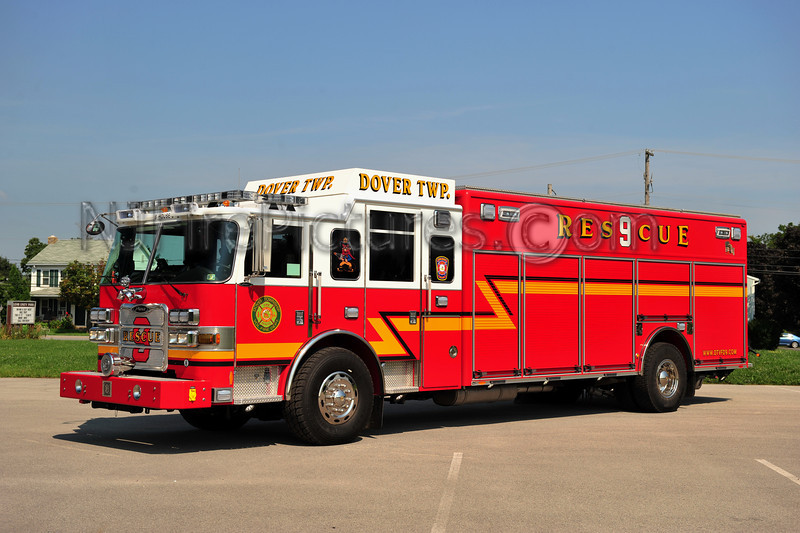DOVER TWP. RESCUE 9 - 2011 PIERCE ARROW XT