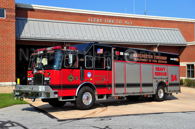 MANCHESTER TWP. RESCUE 24 - 2001 KME