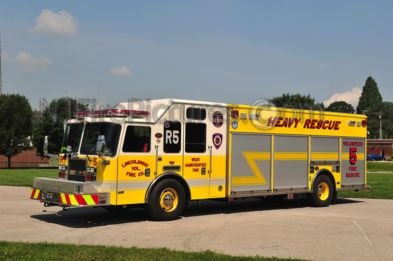 WEST MANCHESTER TWP. (LINCOLNWAY) RESCUE 5 - 2007 KME PREDATOR