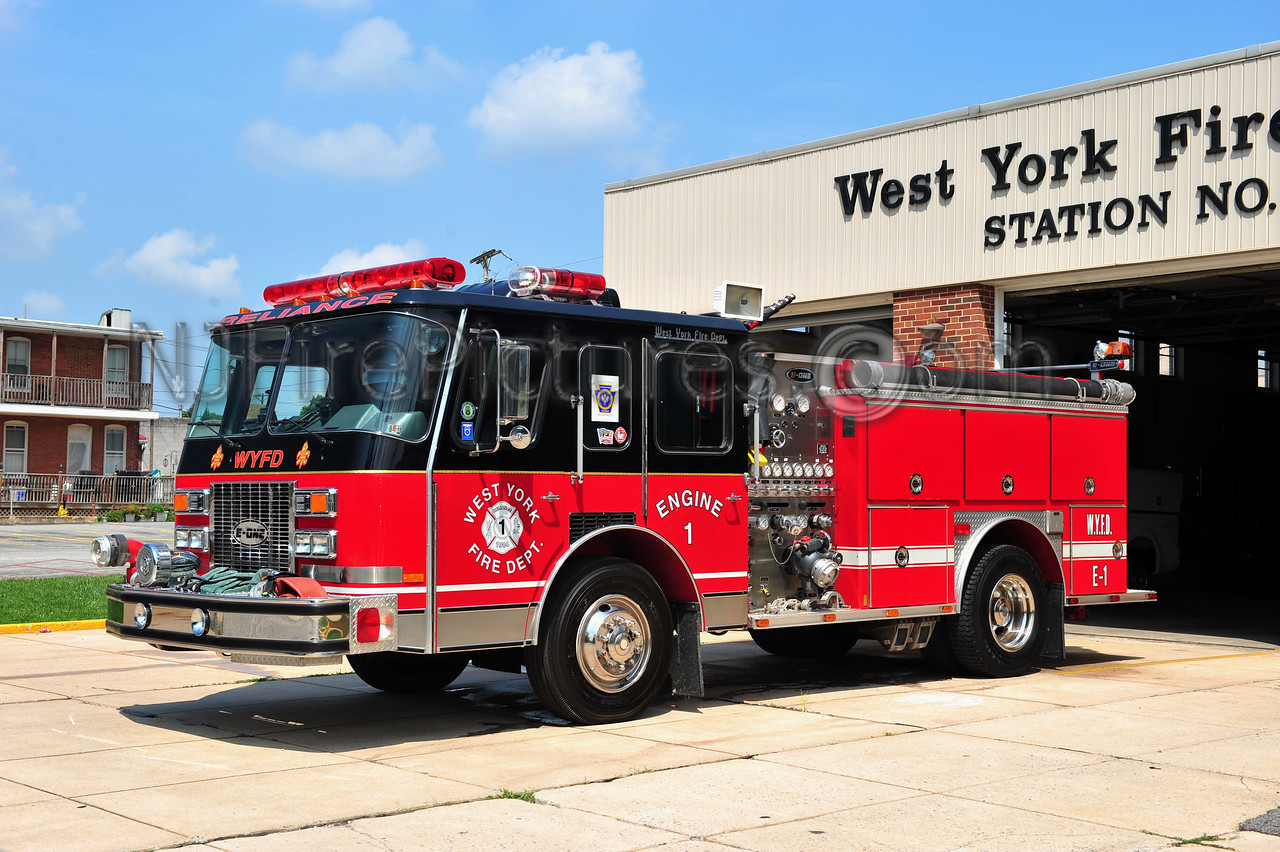 WEST YORK ENGINE 1 - 1991 EMERGENCY ONE 1250/750 EX-OGDEN PA.