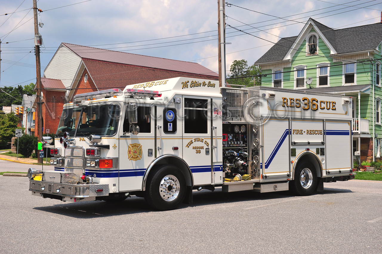 YOE, PA RESCUE 36 - 2007 PIERCE ENFORCER 1500/750/30