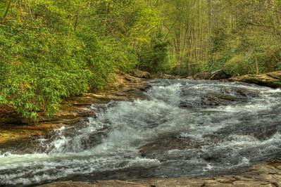 Rapids in Ohio Pyle State Park Pennsalvania