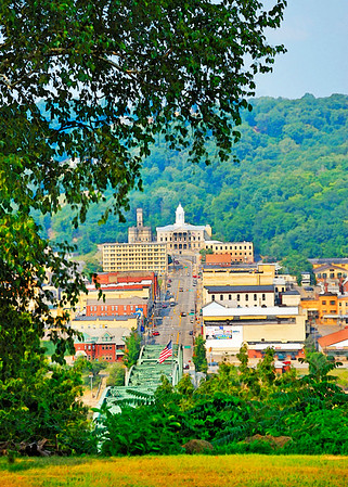 Kittanning from Hill Top- (Item-5073)