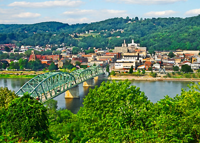 Kittanning from Hill Top- (Item-5077)