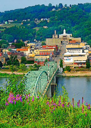 Kittanning from Hill Top- (Item-5071)