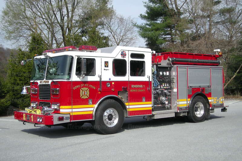 Mt. Penn Engine 1: 2004 Seagrave 1500/750