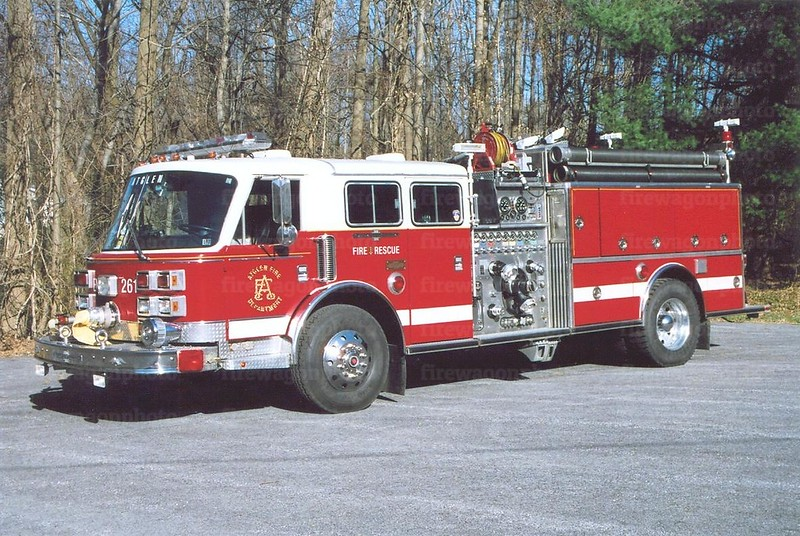 Atglen Engine 261: 1989 American LaFrance/<br /> 1999 Keystone refurb 2000/1000 <br /> x-Coles District, VA & Mount Aetna, MD