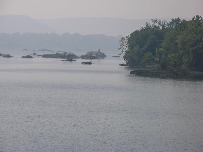 Conowingo Dam area - September 2005