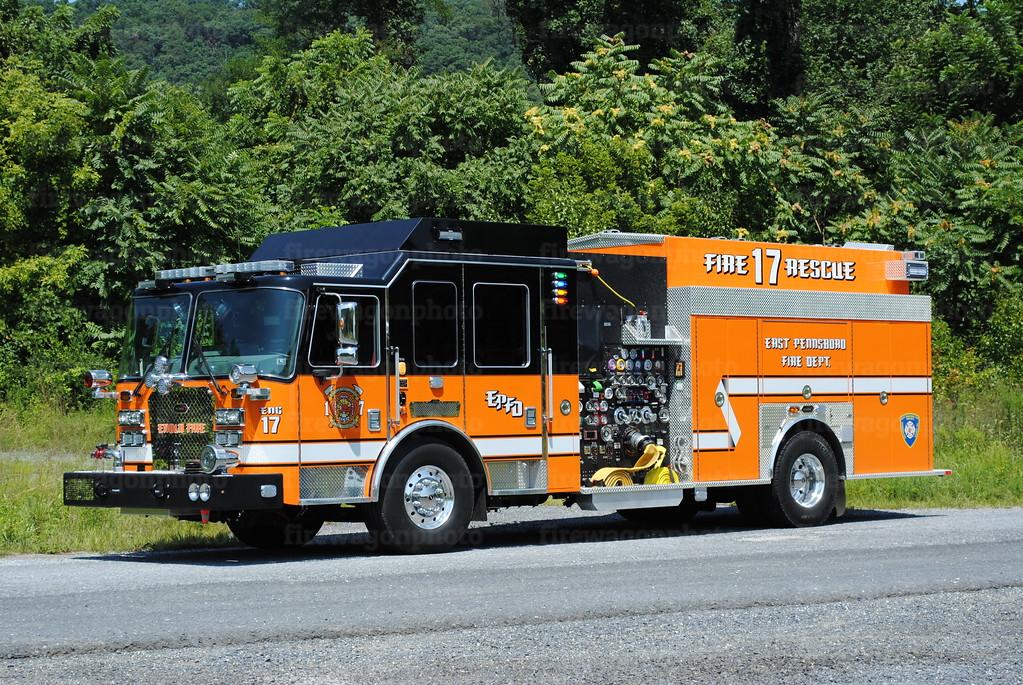 East Pennsboro - Enola Engine 17: 2017 KME 2000/1000/30A