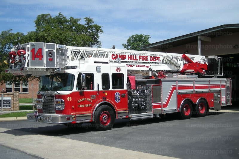 Camp Hill Truck 14: 2008 Spartan/Crimson 2000/300/100'