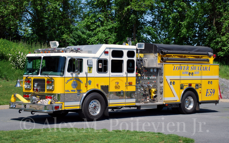 Lower Swatara Fire Department<br /> Engine-59<br /> 1998 Seagrave 2000/750/150A/50B<br /> Photo by: Alex M. Poitevien Jr.