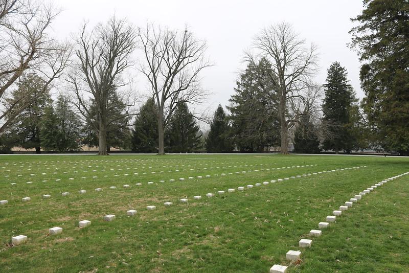 Grave Markers, Battle of Gettysburg