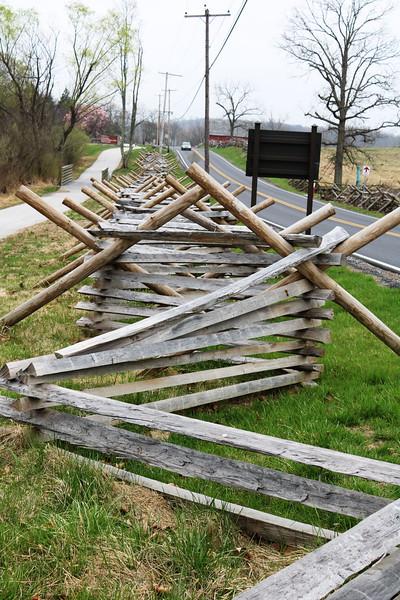 Civil War Era Fence Replica