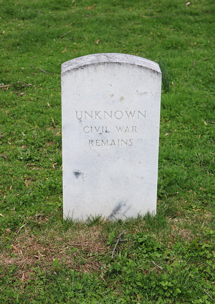 Unknown Civil War Remains