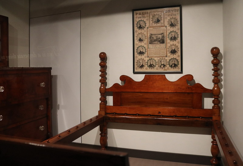 Rope Bed Frame and Chest of Drawers