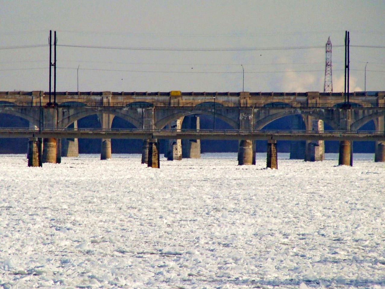 Susquehanna River in January