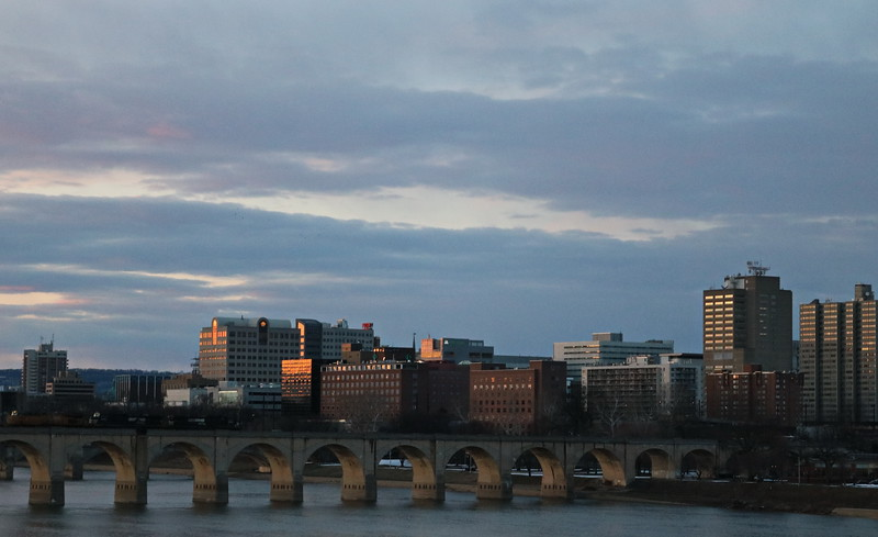 Market Street Bridge and Downtown Harrisburg