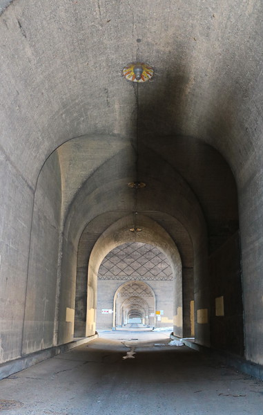 View under the Market Street Bridge