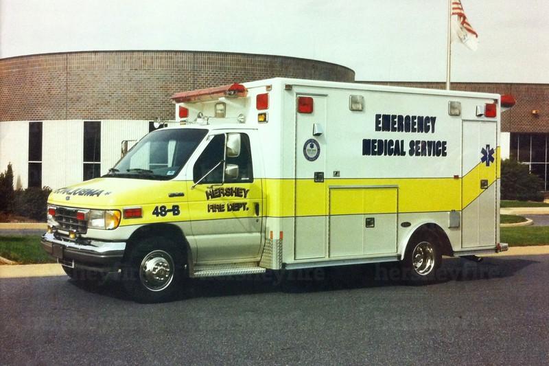 Hershey 1993 Ford/E-One ambulance