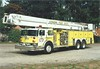 Hershey's 1980 Hendrickson/Pierce Snorkel in-service with Lykens, PA circa 1995