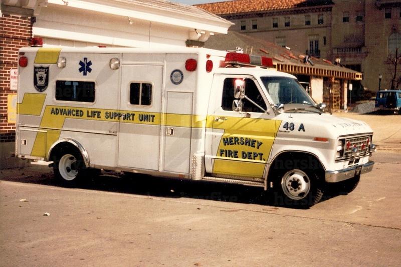 Hershey 1979 Ford/Horton ambulance