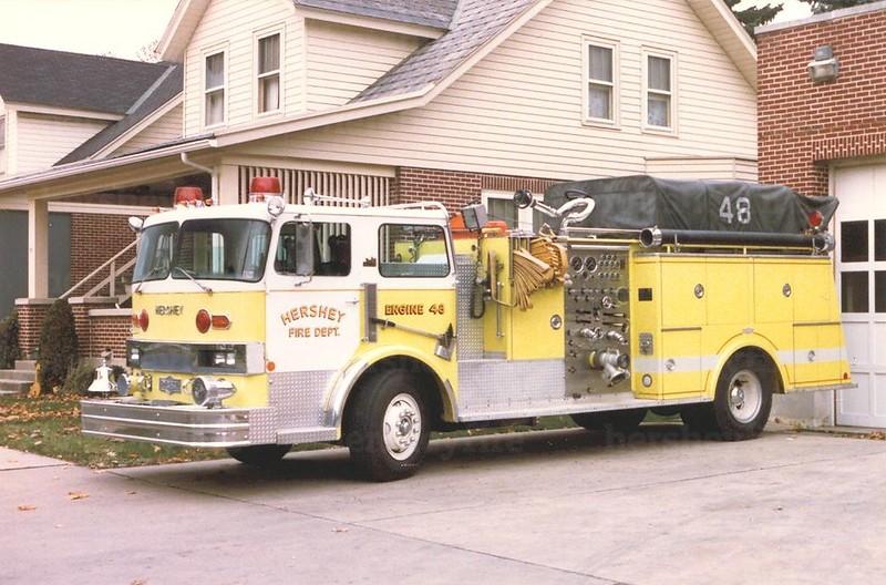 Hershey 1978 Hendrickson/Pirsch 1500/750<br /> (before 1988 refurb)