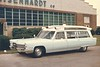 Hershey 1967 Cadillac ambulance (factory delivery photo)