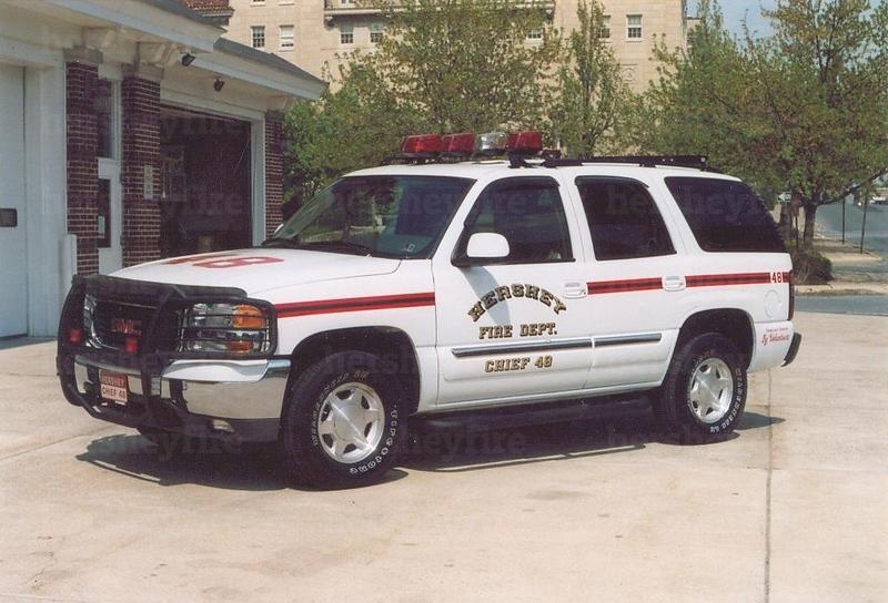 Hershey Chief 48 - 2004 GMC Yukon<br /> [reassigned as Deputy Chief vehicle Nov. 2011]