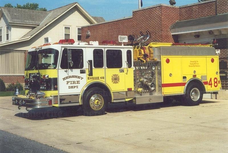 Hershey Engine 48 - 1986 Spartan/Pierce/1999 Interstate refurb<br /> 2000/1000/50A/50B