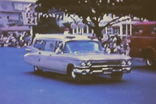 Hershey 1959 Cadillac ambulance