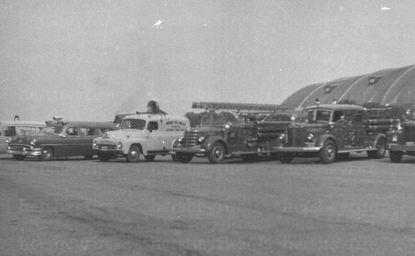 Hershey Fire Dept. apparatus circa 1959