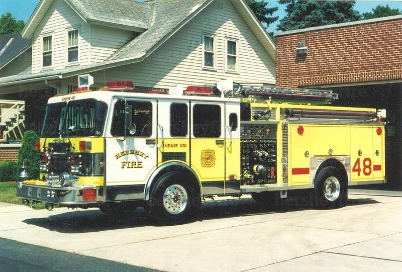 Hershey 1992 Spartan/Darley 2000/750