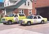 Hershey 1988 Ford Bronco duty officer & 1984 Ford LTD chief's car